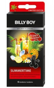 Kondompackung Billy Boy Summertime